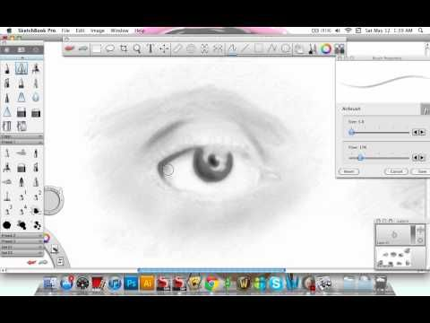Shading tutorial for Sketchbook Pro in 2019 Pc drawing