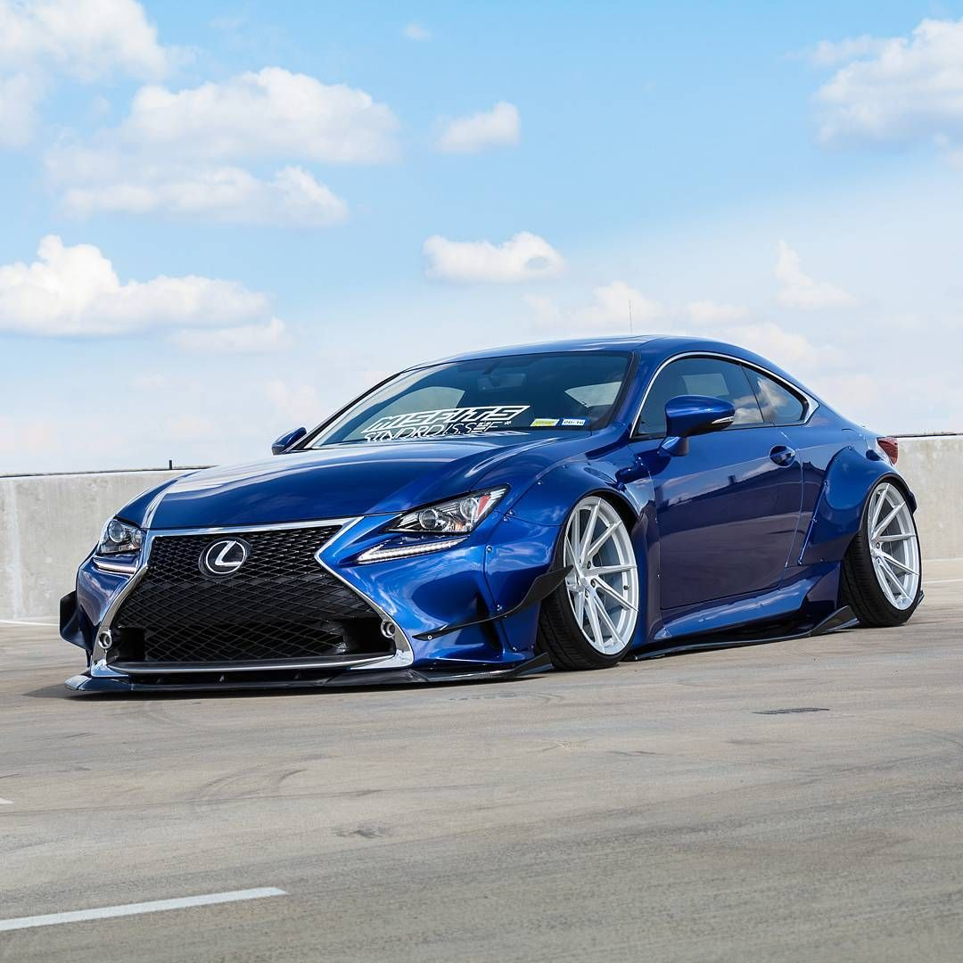 Simple And Clean Lexus Rc350 Rcf Rocketbunny Pandem