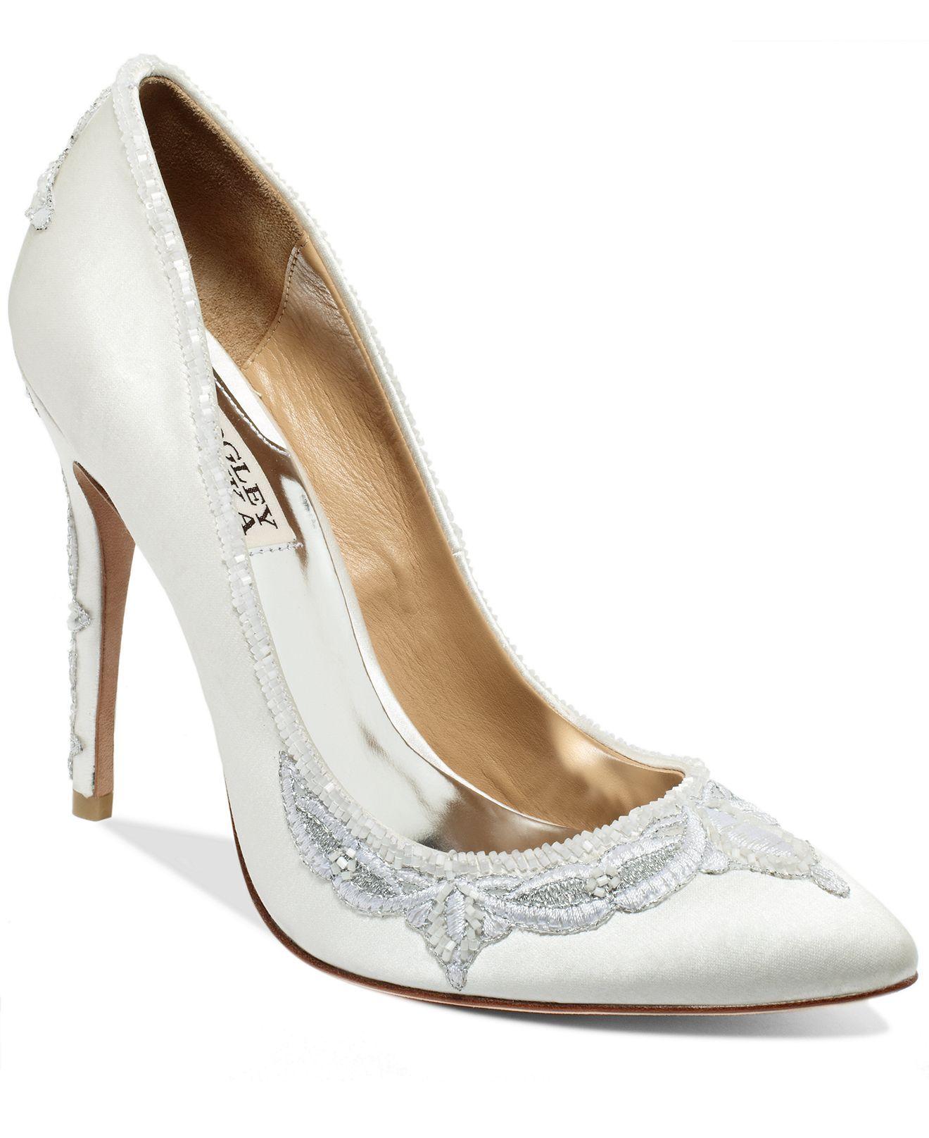 Badgley mischka balance evening pumps shoes macys