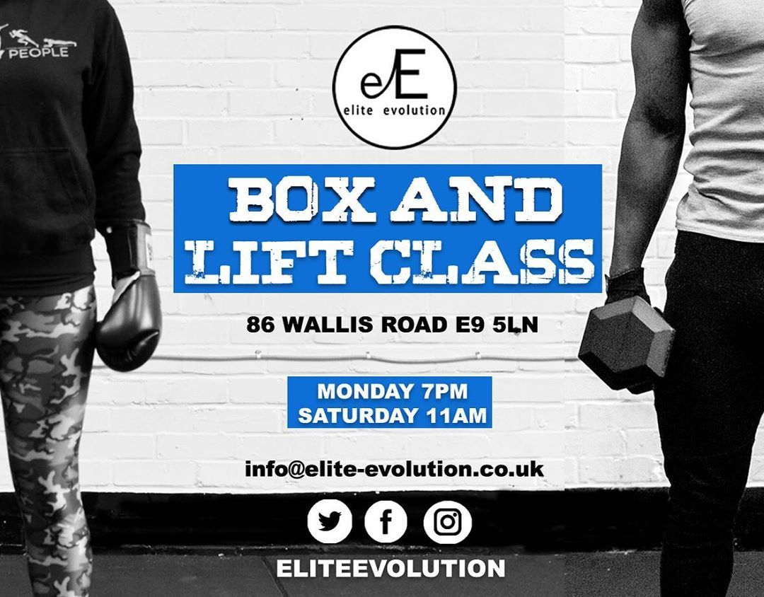 BOX&LIFT Come on down and get that work! This Monday at 7pm with @eelateef @eliteevolution Click lin...