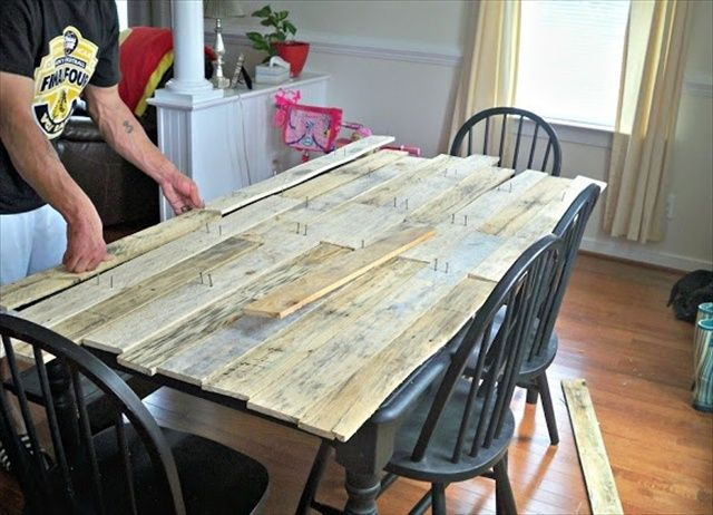 Pallet Kitchen Table For Your Dining Area Pallet Dining Table