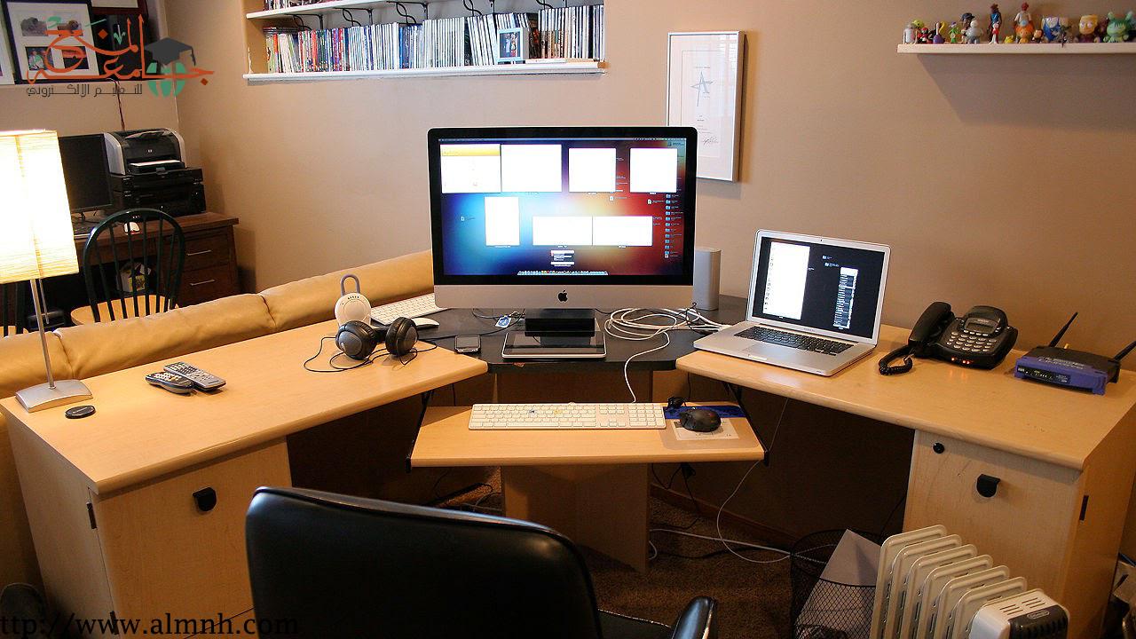 إيجابيات و سلبيات العمل في الانترنت في السنوات الأخيرة إنتشرت بشكل واضح ثقافة العمل في الانترنت و أصبح هذا المي Computer Setup Working From Home Home Business