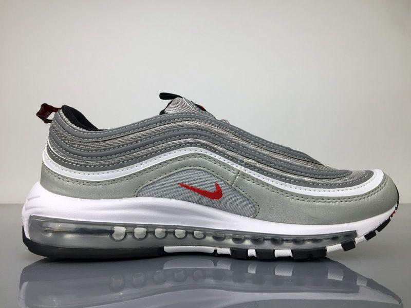 Nike Air Max 97 GS (921522) whitemetallic silverwhite ab