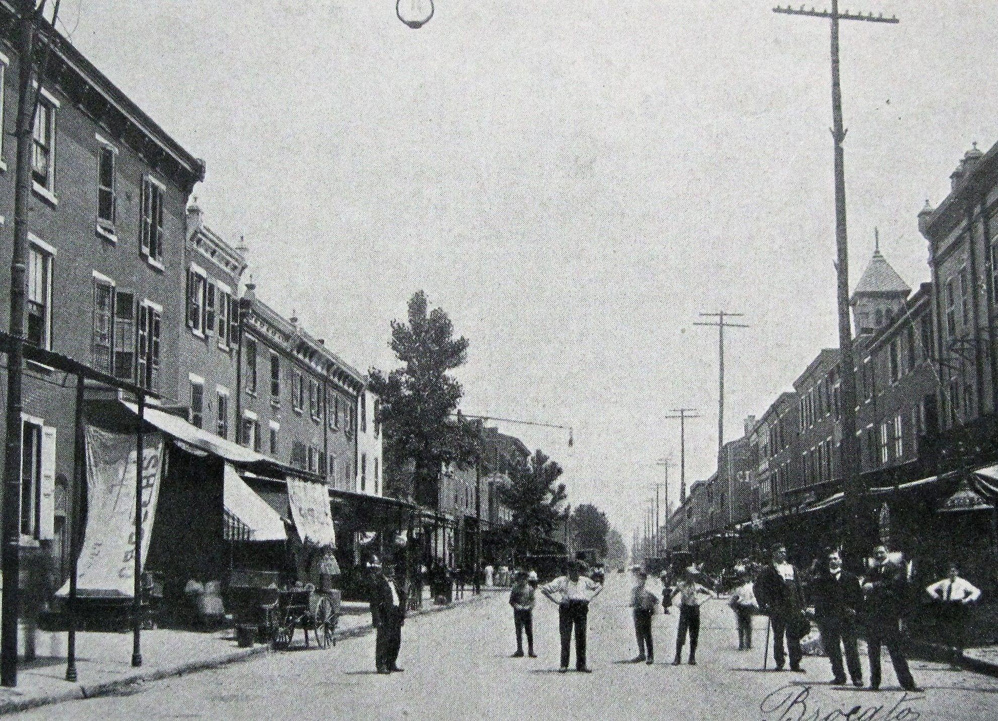 STREET CREW: 9th & Christian, Philadelphia 1906. Original caption ...