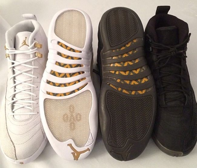 6e1518bfbf40 Air Jordan 12 Retro Drake OVO Stingray1 Drake Joins Jordan Brand  (OVO Air Jordan  10   12)