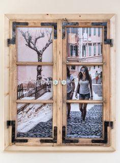Nachdem ich mir alte Holzfenster besorgt habe ging es an
