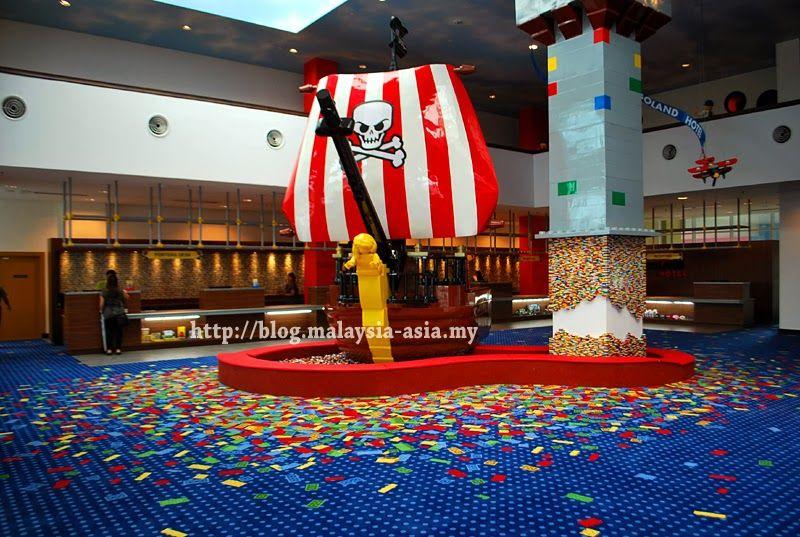 The main lobby area - Pictures of Legoland Hotel in Malaysia - Sneak Peek ~ Malaysia Asia