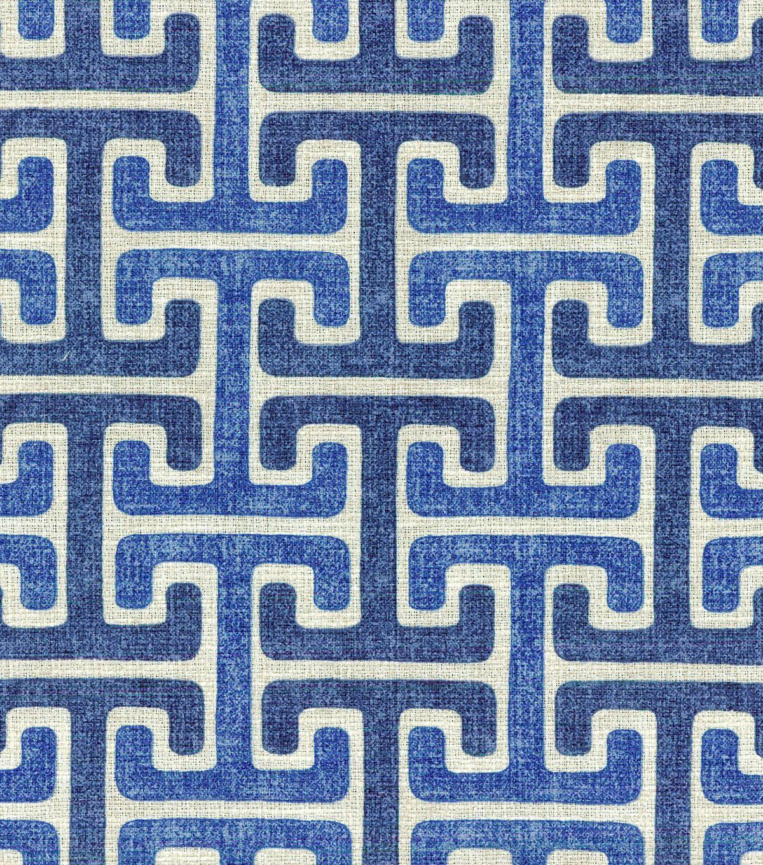 $14.99 On Sale Home Decor Print Fabric- Swavelle Millcreek Chiara Sussex Denim