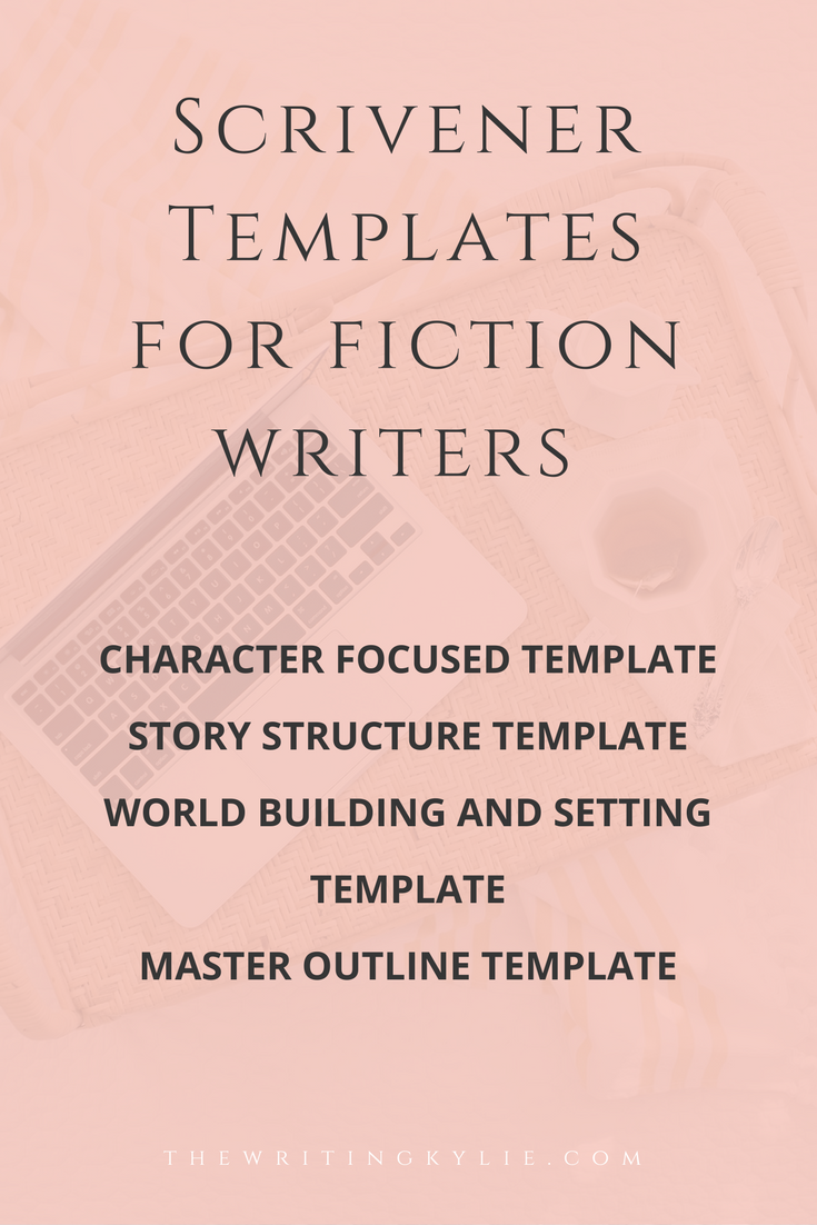 you can use these scrivener templates for as many writing projects