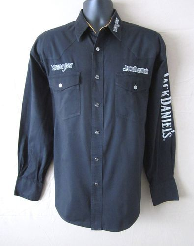 JACK DANIELS WRANGLER....Be sure to stop by and take a look at this Excellent JACK DANIELS shirt! This is a MUST SEE!!  Please visit http://stores.shop.ebay.com/J-and-S-Menswear for more great deals on men's and women's fashions!