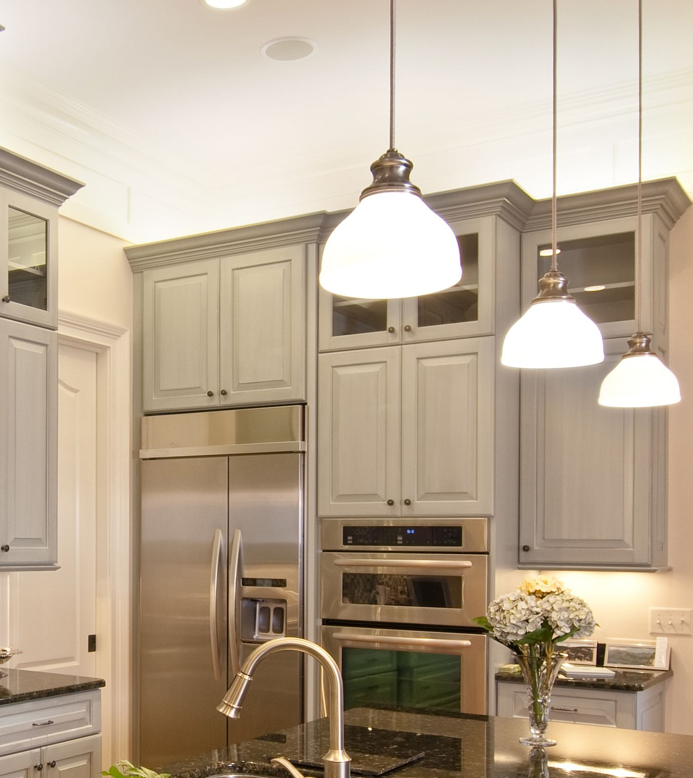 Prasada Kitchens And Fine Cabinetry: Grey Kitchen Cabinets - Design Ideas