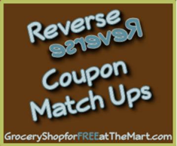 8/16 Reverse Coupon Matchups!