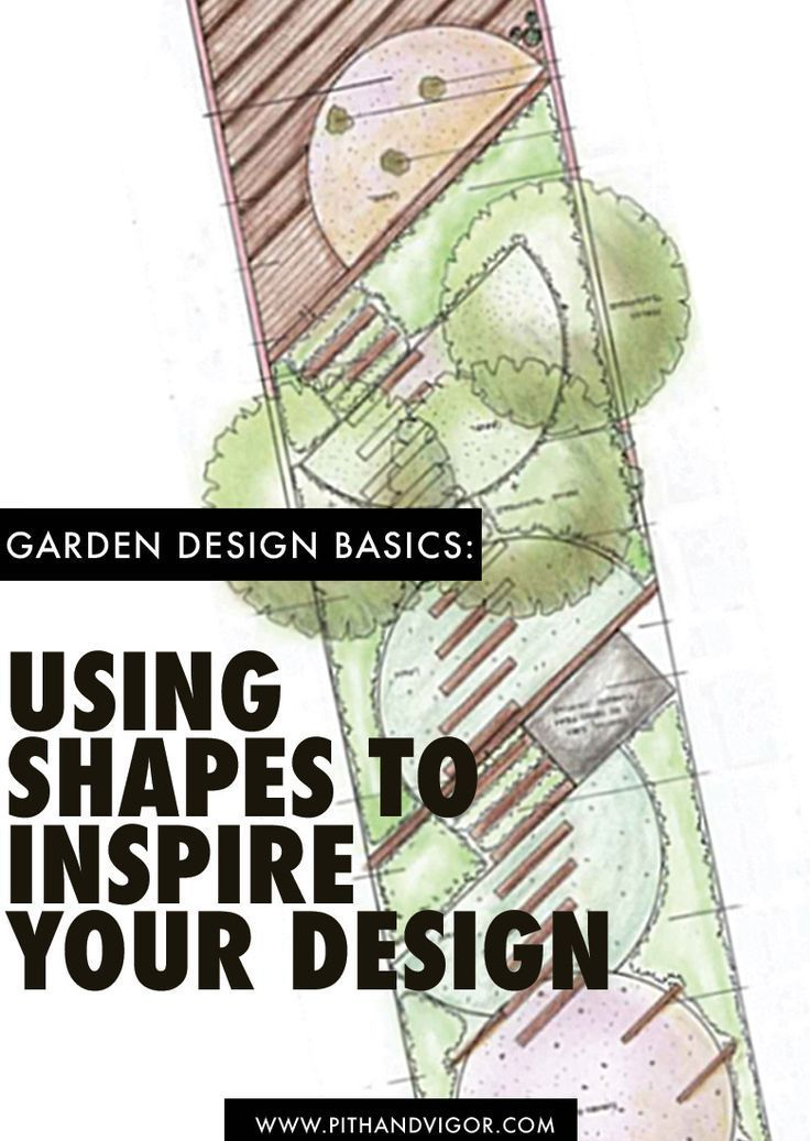 Garden Design Basics: Using Shapes To Inspire Your Design | Landscape  Designs, Planting And Gardens