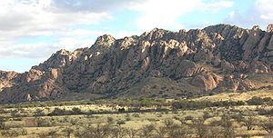 Dragoon mountains, Arizona where Cochise and his braves used to hide out