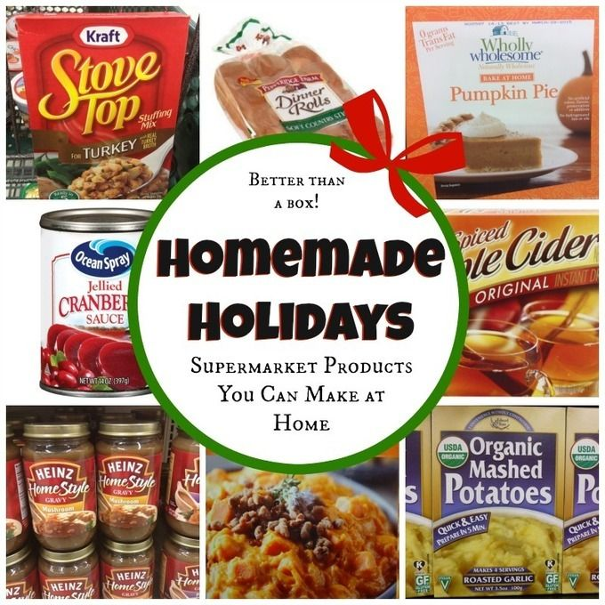 Homemade Holiday: Supermarket Products You Can Make at Home