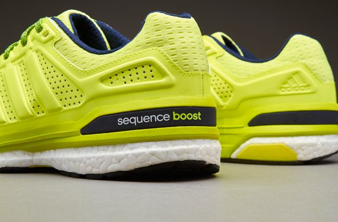 e3c20079ba5fb6 adidas Supernova Sequence Boost 8 - Solar Yellow Collegiate Navy ...