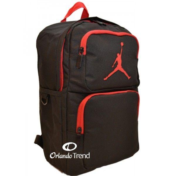 Nike Air Jordan 365 Deuce Black and Red Backpack for 14 inch