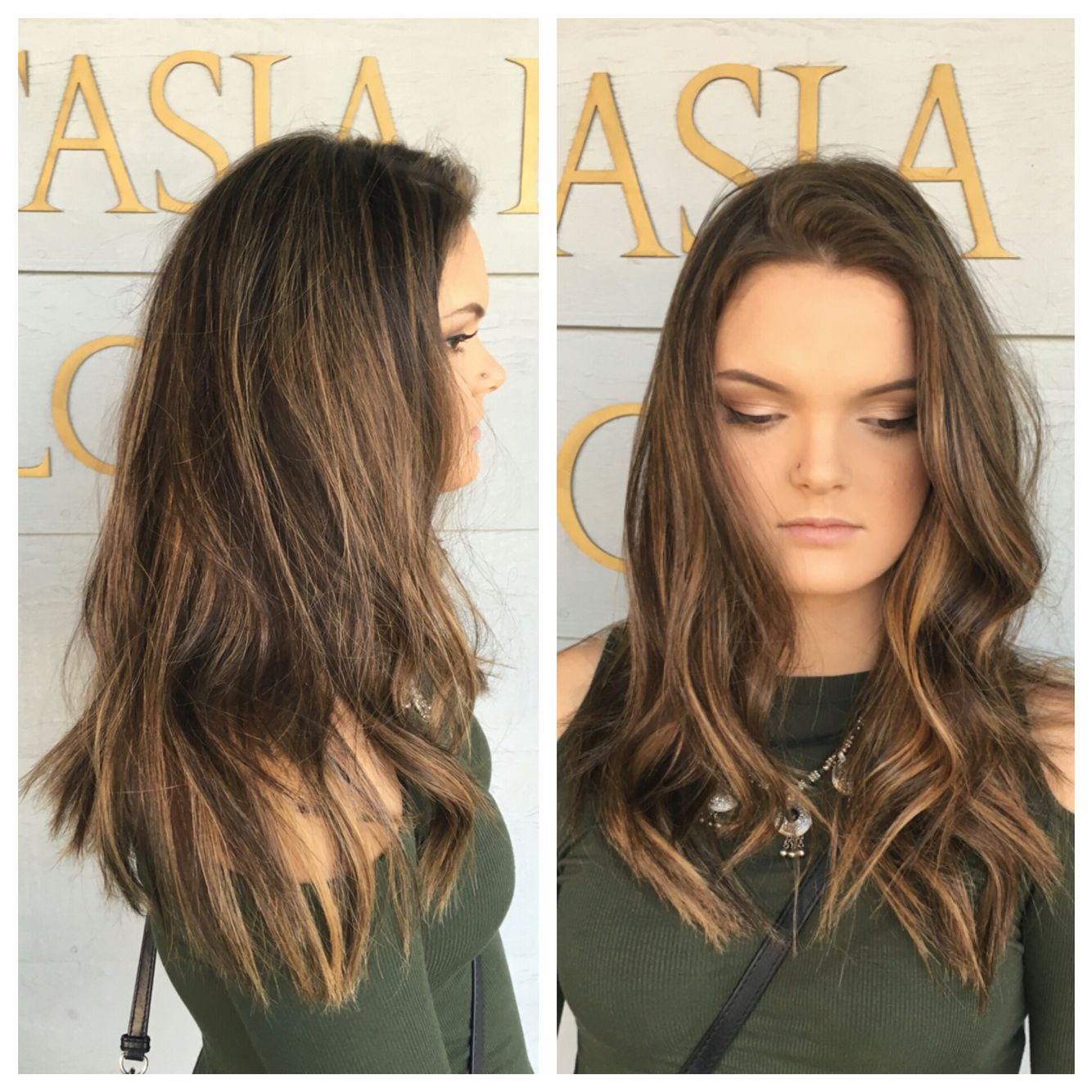First step in making this babe lighter ✨ (her hair was dyed dark a ...