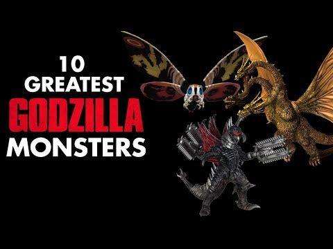 10 Greatest Godzilla Monsters - YouTube | Godzilla ...