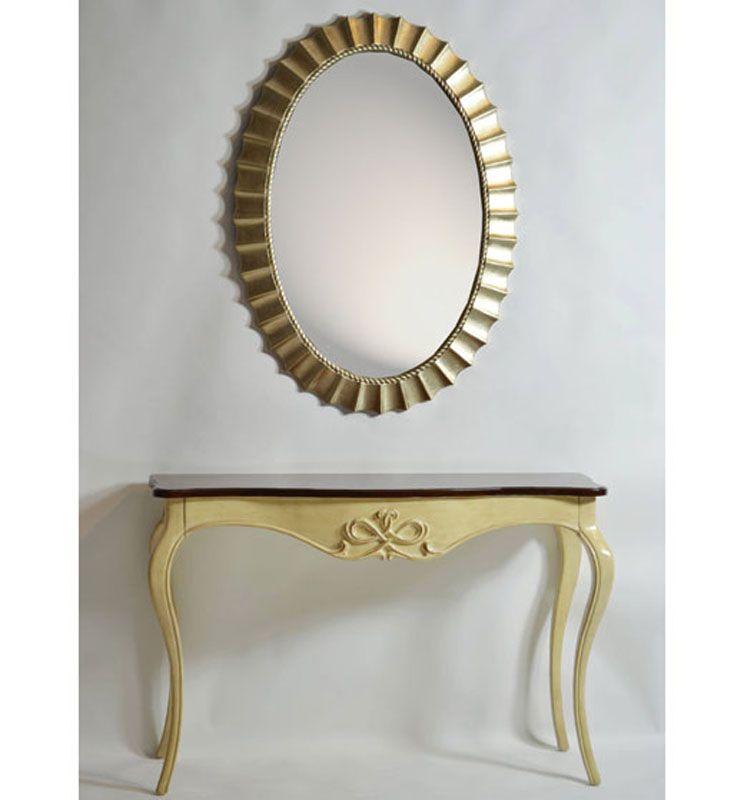 Espejo clasico espejo en pan de oro espejos clasicos for Espejos decorativos baratos online