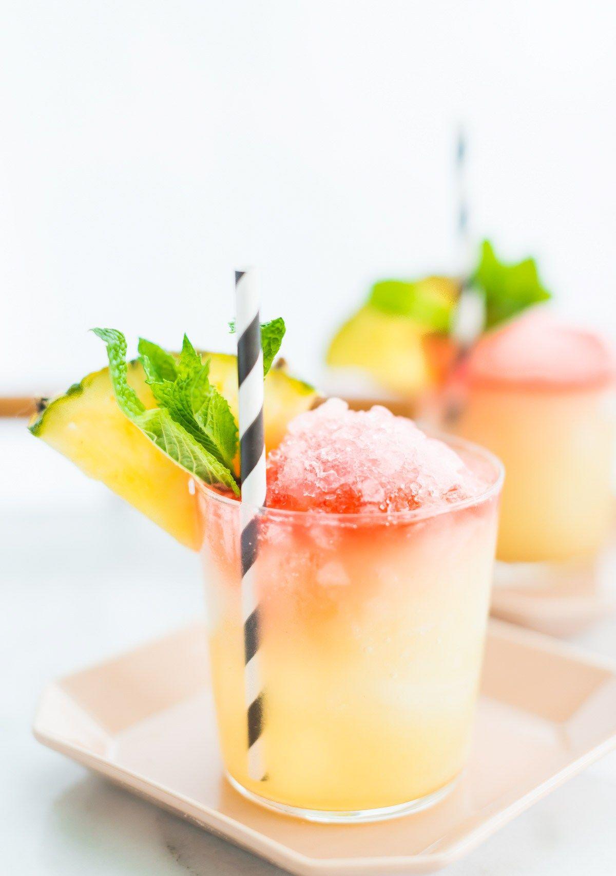 Piña Colada Snow Cone -Sugar & Cloth - Houston Blogger - Cocktail Recipe