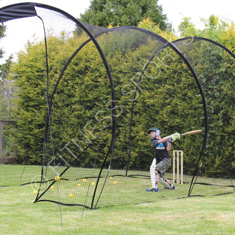 Portable Batting Cages Backyard: Quick Play 2m (H) Outdoor Pop Up Garden Cricket Nets