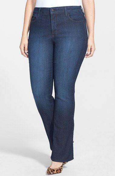 9cb24333db0 Free shipping and returns on NYDJ 'Billie' Stretch Mini Bootcut Jeans  (Burbank)