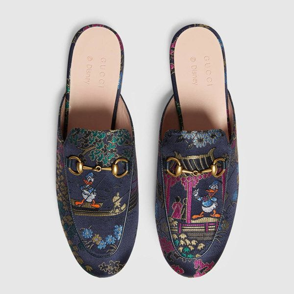 5d3ecad1354 Donald Slip on -GUCCI x Donald Duck Capsule Collection - Disney Style Blog  - Shoes