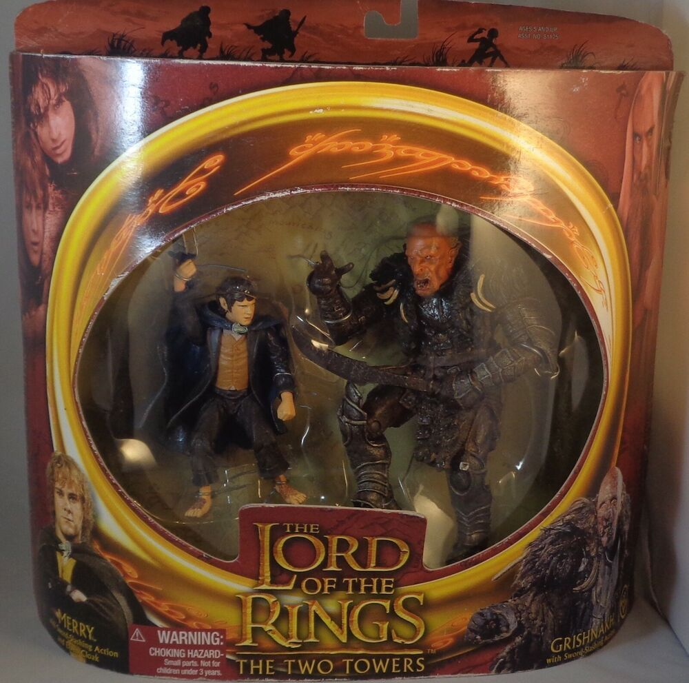 Never Opened Action Figure Lord of the Rings
