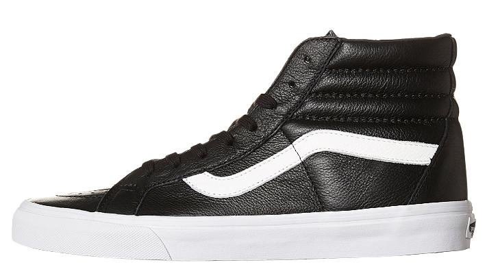 Vans SK8 HI REISSUE Premium Leather Shoe Black VN 0ZA0EW9