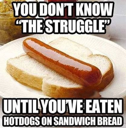 Hotdogs On Sandwich Bread Struggle Click The Link To View Today S