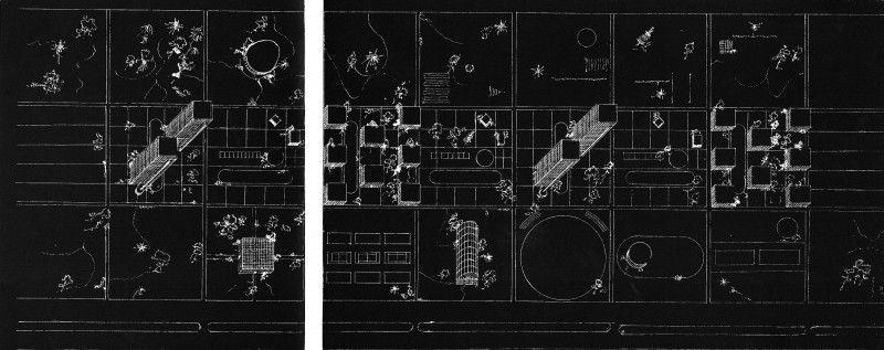 Modern Architecture Blueprints soviet abstract architecture blueprints (mid-1920s to early-1930s