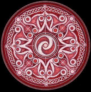 Belinda - The Mandala ist ein altes und heiliges Symbol des Universums. Klassisch in der Form eines Kreises ( Kosmos ) ein Quadrat ( erdgebundene Materie ) umschließt. Mandalas für Meditation, Kontemplation , Heilung und visuelles Vergnügen benutzt - Sandra Joran