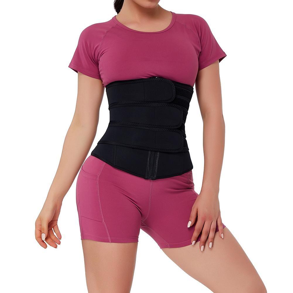 Hexin neoprene waist trainer corset sweat 7 steel bone