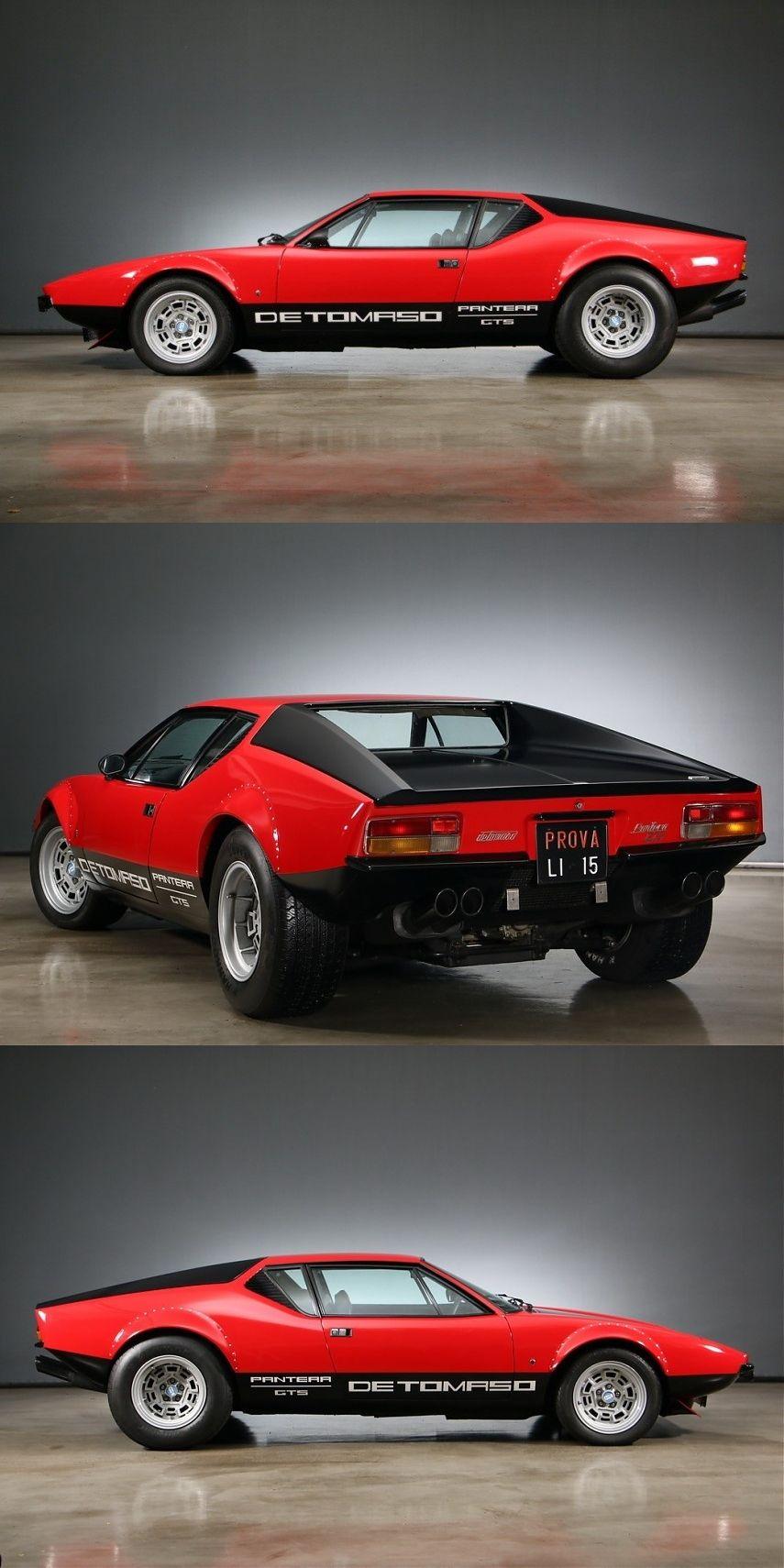 1972 De Tomaso Pantera 5 7 Ltr Gts Old Sports Cars Classic