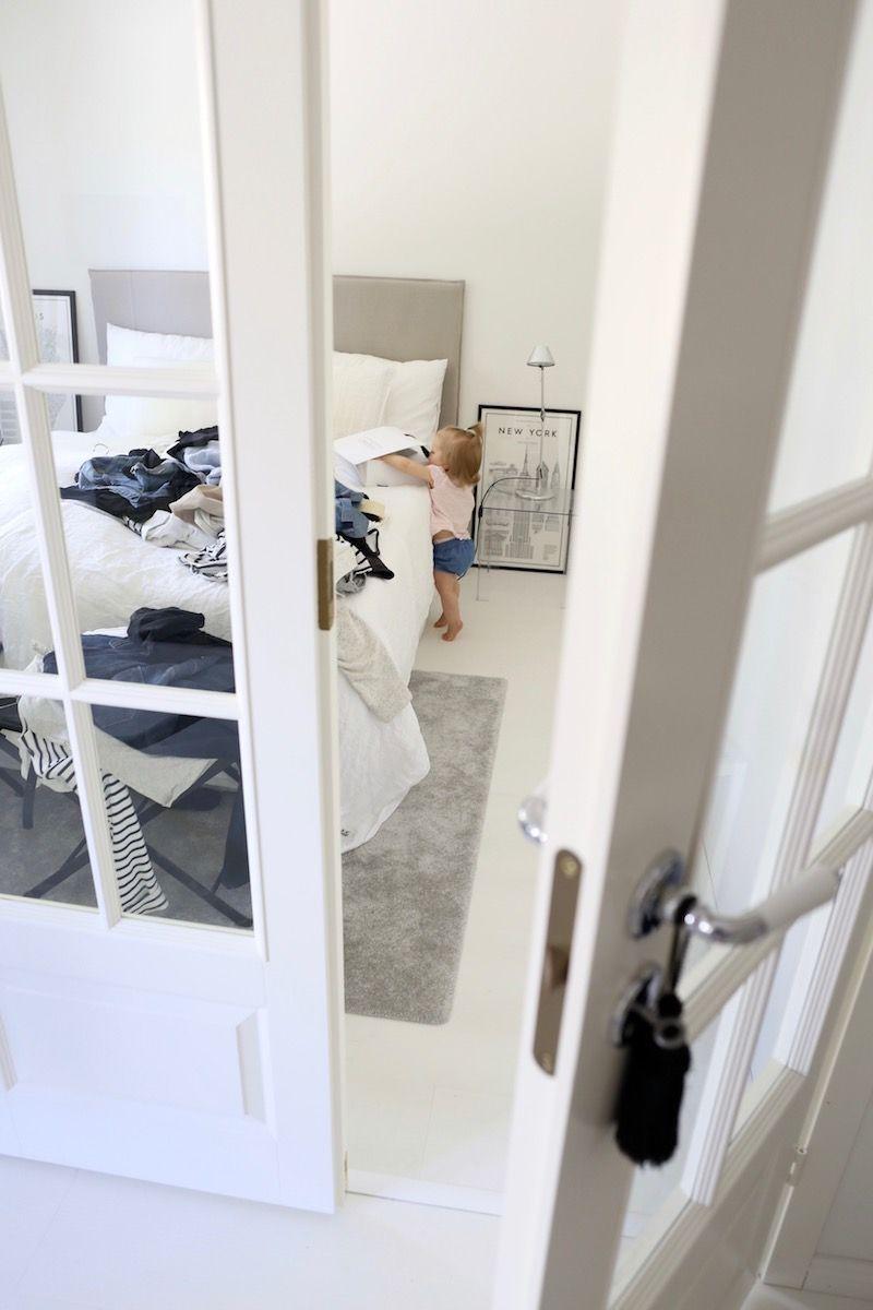 Homevialaura | House keeping | organizing wardrobe with toddler