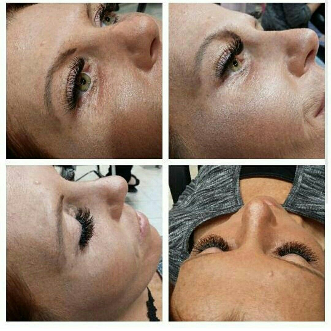 Beforeafter Cluster Eyelash Application Neva Bonitabrowbar