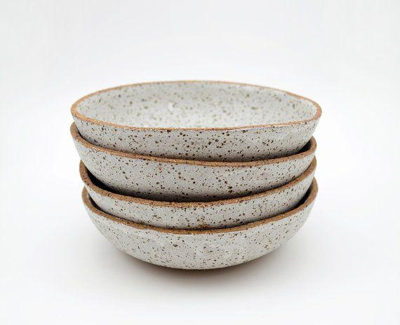 Stoneware Specked Bowl