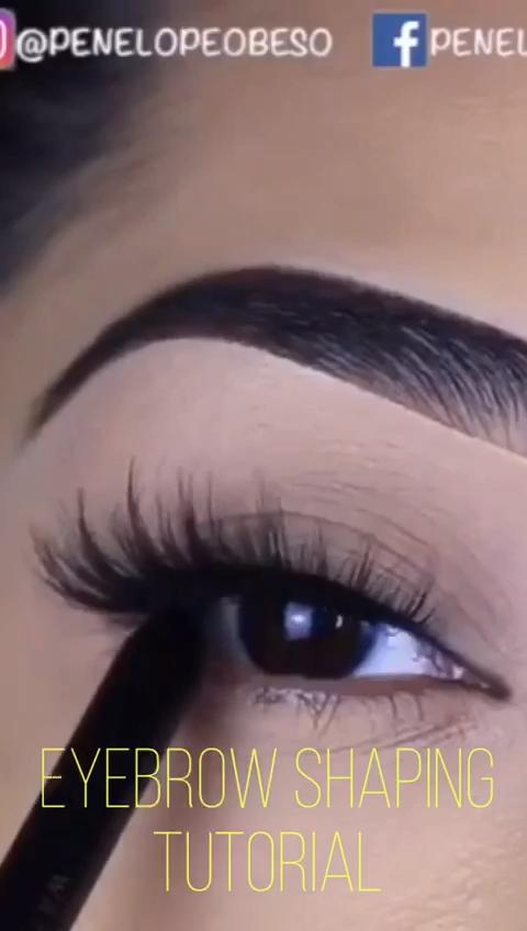 Eyebrow Shaping Tutorial In 2020 Eyebrow Tutorial Shaping Eyebrow Makeup Tutorial Eyebrow Shaping