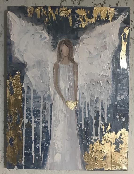 Photo of Similar Items Like Oil Painting Angel Pictures Guardian Angel Angel Painting Canvas Print Home Decor Wall Decor Housewarming gift, protective on Etsy