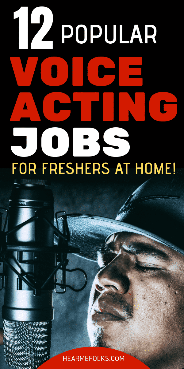 49bc184f88df707c2109128358a01333 - 12 Popular Voice Over Jobs - Up to $3000 Per Project! | HearMeFolks - work-from-home