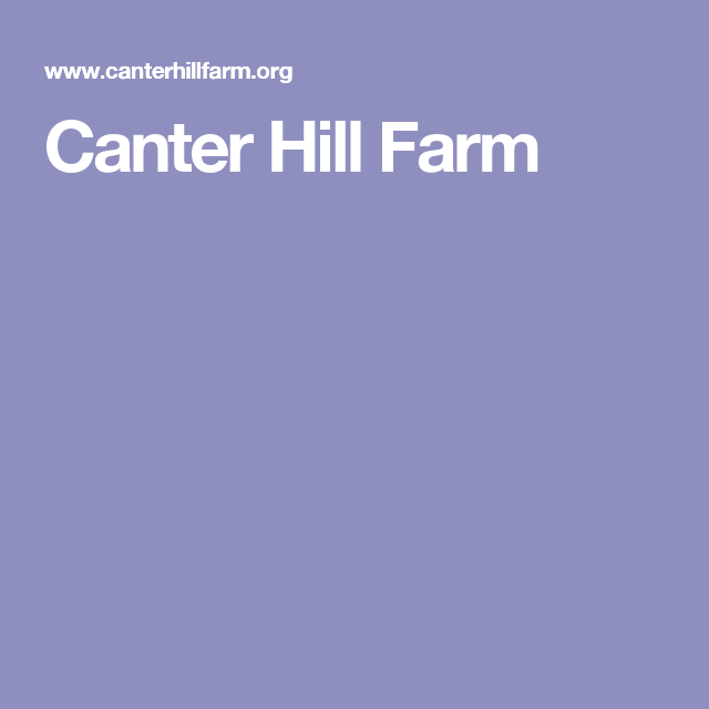 Canter Hill Farm