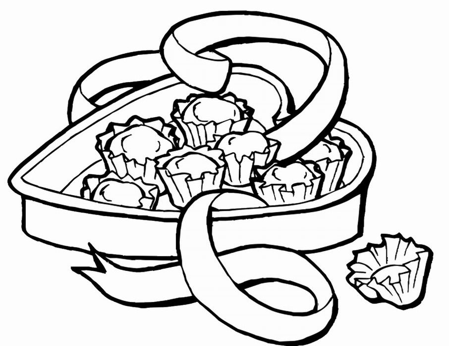 Candy Hearts Coloring Pages In 2020 Heart Coloring Pages Candy Coloring Pages Coloring Pages