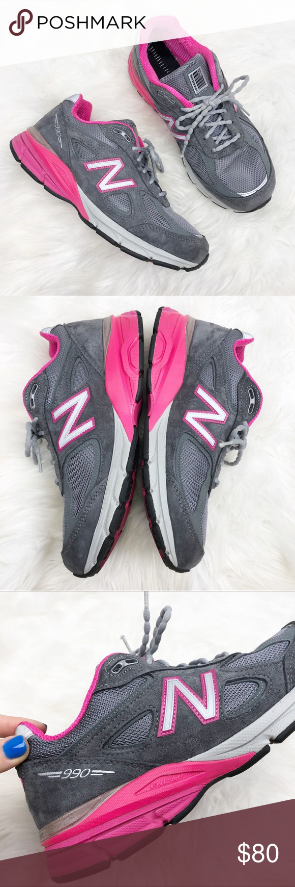 buy online aed19 97dd2 New Balance 990v4 Suede Sneakers Sz 9 New Balance 990 ...
