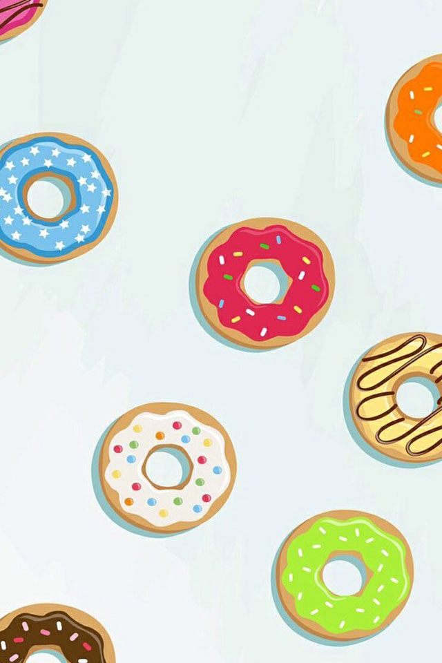 Donut wallpaper | Wallpaper fofos, Wallpapers bonitos, Wallpaper