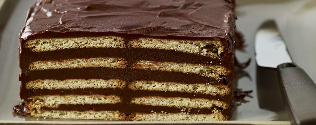 Gâteau au Véritable Petit Beurre LU® et au chocolat ...