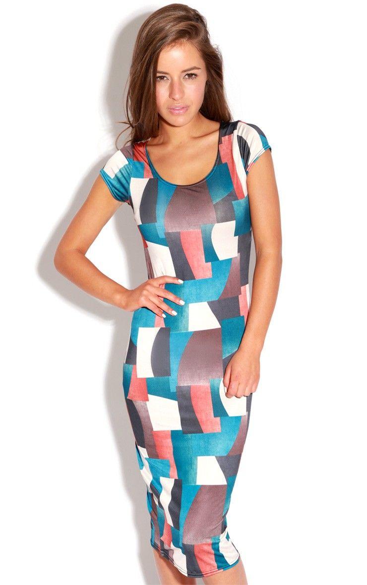 Adele multicoloured square midi dress fashion pinterest adele