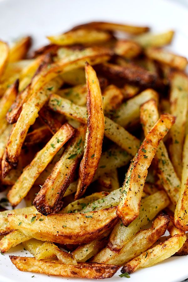 Air Fryer Salt And Pepper French Fries Recipe Air