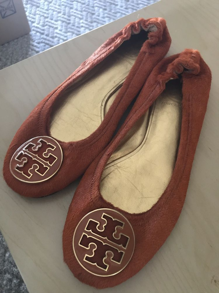 8d9c6cfaba8a Tory Burch Womens Faux Fur Flats Size 8.5  fashion  clothing  shoes   accessories  womensshoes  flats (ebay link)