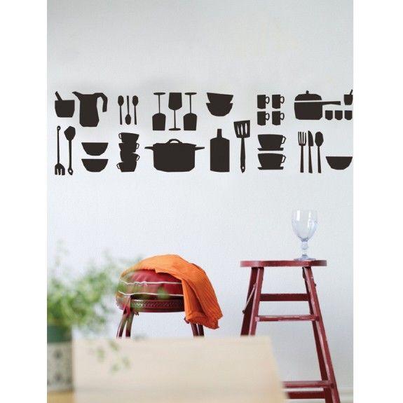 Küchen Wandtattoo - Ferm Living Küchenbilder Pinterest - wandtattoos k che g nstig